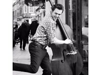 Double Bass lessons with Peter Lawson (BA, MA Music Performance)