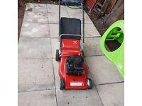 Petrol mower, spares, repairs