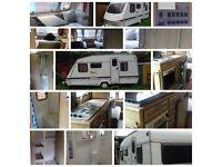 Caravan for sale in Cottingham £1000 ono sleeps 5 good condition includes fridge cooker hob toilet