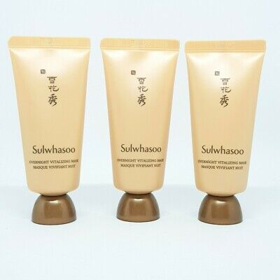 Sulwhasoo Overnight Vitalizing Mask Masque Vivifiant Nuit 35ml x 3ea K-Beauty