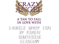 MOBILE SPRAY TANNING GLASGOW SOUTH WEST