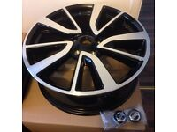 Set of 19' Nissan Qashqai / x-trial tekna alloy wheels x 4