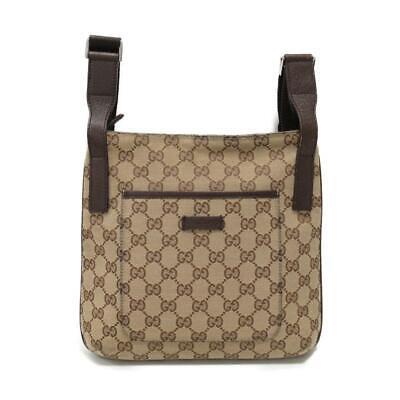Gucci gg monogram Messenger brown crossbody 3ga514