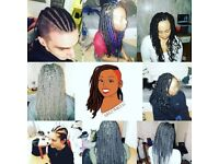 NEW YEAR Box Braids, Faux Loc's and Senegalese Twists £50