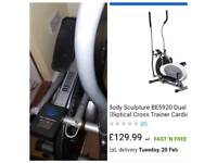 Body Sculpture BE5920 Strider Exercise Equipment