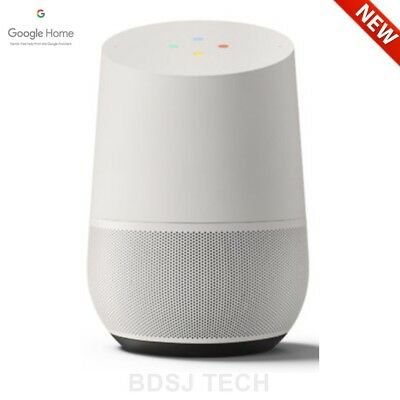 Google Home   White Slate  Smart Voice Personal Assistant Speaker  Us Warranty