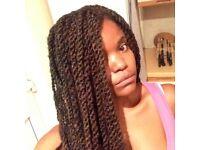 braids, weaves, cornrows, locks, tracks etc