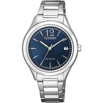 Citizen Women's Eco-Drive Calendar Date Midnight Blue Dial 33mm Watch FE6120-86L