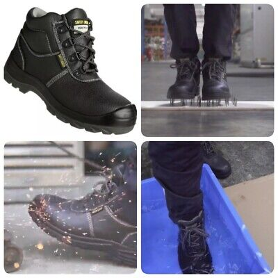 Safety Joggers Working Boots. Men's Sizes. The Best Boots For Your Money. (The Best Leather Boots)