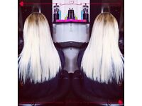 Professional hair extensions, micro rings, nano rings and micro weaves