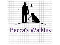 Becca's Walkies! Dog walking and Pet sitting