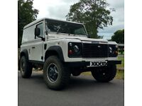 Landrover Defender 90 300 TDi in a very tidy condition. Recent upgrade with lots of new parts.