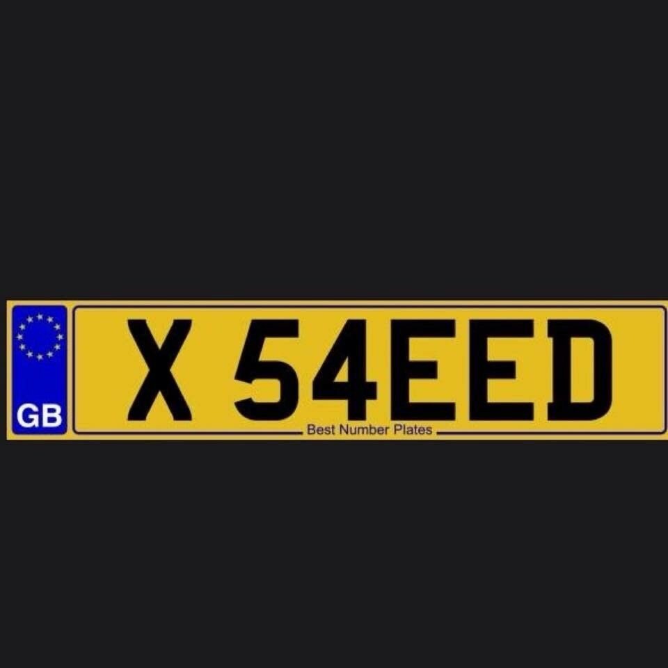 Number Plate #SAEED