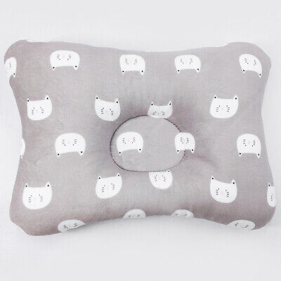 Newborn Baby Pillow 3-Dimentional Air Mesh& Washable Cotton for Flat Head Cat