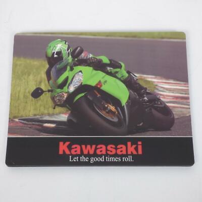 Alfombrilla de Ratón Kawasaki para Ordenador 24x19cm Nuevo