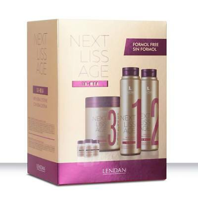 Lendan Next Liss Age Pack Professional Alisado Con Kera-Cisteína Sin Formol
