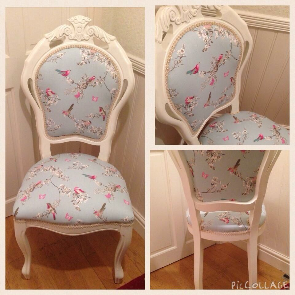 Shabby Chic Bedroom Chair Gorgeous Shabby Chic Style Bedroom Louis Chair In Dunelm Duck Egg