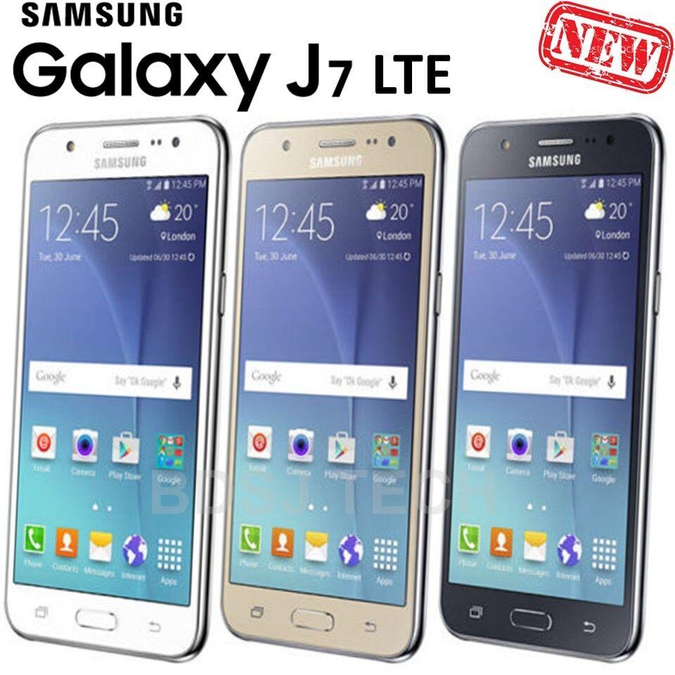Samsung Galaxy J7 LTE 4G 16GB DUAL SIM GSM Factory Unlocked Smartphone J700M/DS