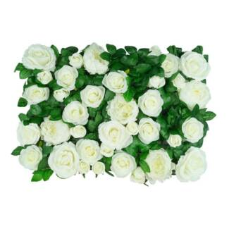 Artificial Rose & Peony Flower Wall Panels Wholesale or Retail