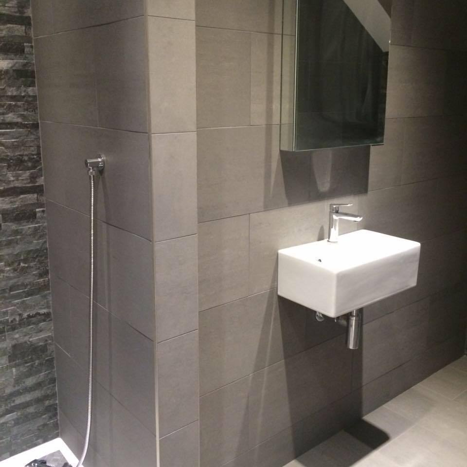 Porcelain Floor Wall Tiles Vitra Dark Grey - High quality - Bargain ...