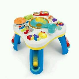 Bright starts activity table