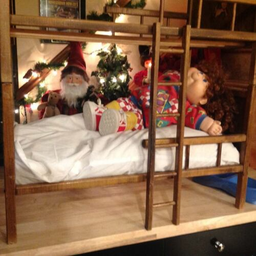 Baby Doll Bunk Beds Vintage Excellent