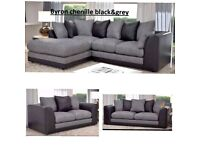 😍NEW SALE ON ALL BRAND NEW BYRON CHENILLE 🥰 CORNER OR 3+2 SEATER SOFA SET ORDER NOW 🥰