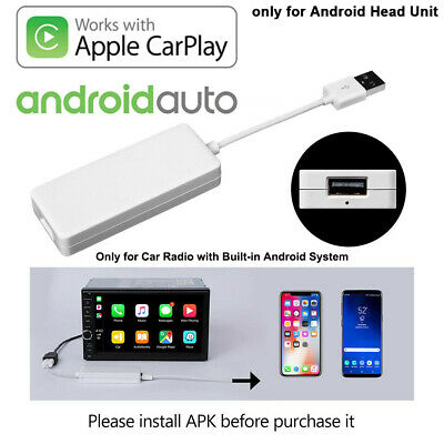 USB Dongle Adapter GPS Navigation Player Android Car Radio Mirror Link for iOS
