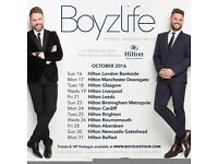 2 Boyzlife tickets £50