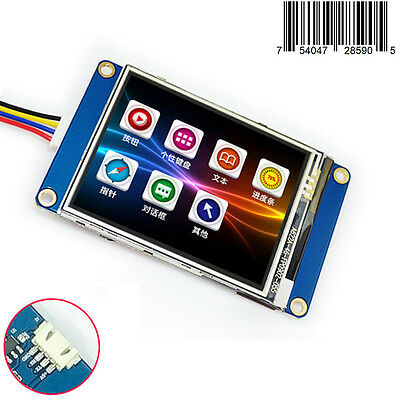 2.8 Nextion Hmi Tft Lcd Display Module For Raspberry Pi 2 A B Arduino Kits