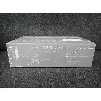 Monte Carlo 3DSTR57AGPD Destin  Ceiling Fan 57