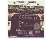 Waiting Staff - £8ph + tips - Independent Pub in Soho