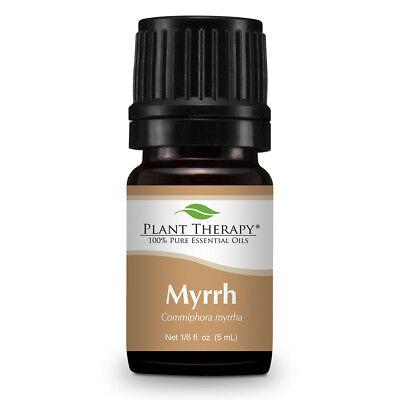 Plant Therapy Myrrh Egyptian Essential Oil 5 mL (1/6 oz) 100% Pure, Undiluted 1/6 Oz Essential Oils