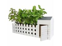 Indoor Allotment A stylish indoor gardening set, complete with a garden shed RRP £24.99