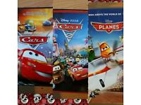 DISNEY CARS DVDS