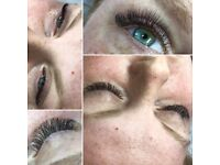 Eyelash Extensions - Classic, Russian Volume from £30