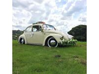 Classic VW Beetle Wedding car hire / photo shoot / Manchester / North West Area / Vintage