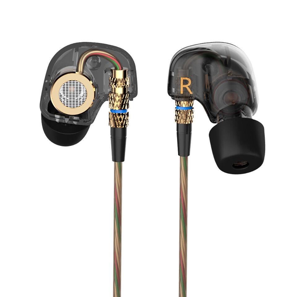 KZ ATE HIFI In-Ear Earphones Dynamic Super Bass Noise Isolat