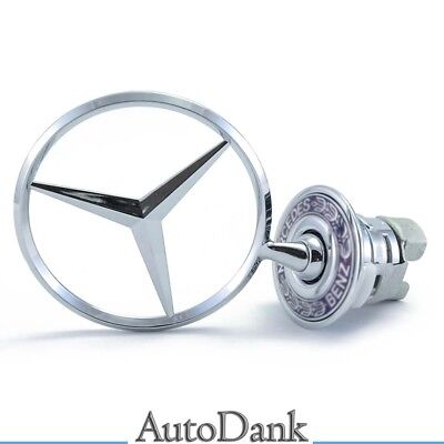 44mm Stern Motorhaube Emblem Logo Mercedes-Benz S-Klasse CLK200 W124 W202 W203