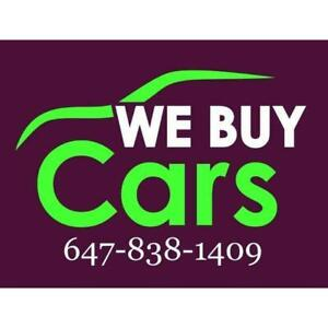 24/7 We Pay Best Offers for Used Vehicles&Used Junk Scrap Cars Removal Call 647-838-1409 Cash on spot |Free Towing