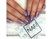 HIRING: F/T Nail Technician (35HPW) GLASGOW CITY CENTRE (Not Battlefield)