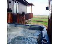 Family holiday lodge/caravan to rent stunning views