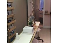 Treatment room and nail bar rent for self employed therapist or nail technician