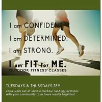 Work out every Tuesday and Thursday!