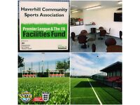 ***5 ASIDE TEAMS WANTED FOR BRAND NEW LEAGUE AT HAVERHILL - THE NEW CROFT***