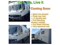 Ideal Live on Converted Truck - Automatic Right hand drive