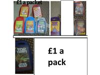 Top trumps cards £1 a pack collection from didcot or £8 the lot postage £2.90
