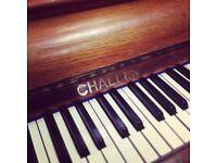 RARE : Challen MultiTone Mandolin studio piano THE PIANO PAVILION