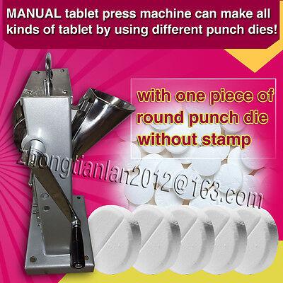 Single Punch Tablet Press Pill Making Machine Maker TDP-0,1 set punch dies mold