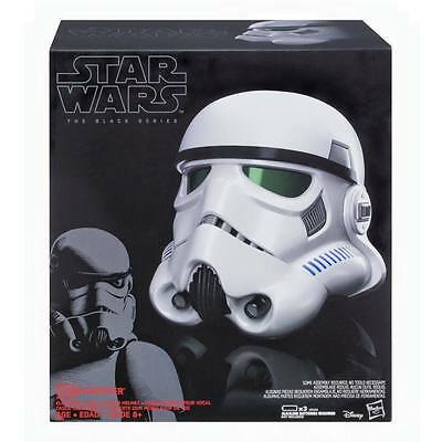 STAR WARS - THE BLACK SERIES STORMTROOPER HELM 1:1 / ELECTRONIC VOICE CHANGER